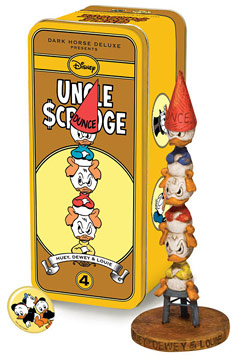 Classic Uncle Scrooge Series 2 Character #4: Huey, Dewey, and Louie Statue