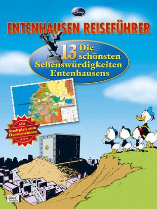 Reisefuhrer Entenhausen mit Stadtplan