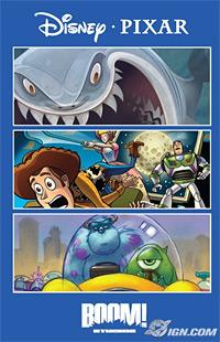 Pixar comic
