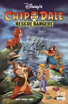Chip 'n Dale Rescue Rangers issue 1 by BOOM! Studios