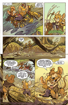 Chip 'n Dale Rescue Rangers 1 by BOOM! Studios