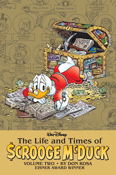 Cover of The Life and Times of Scrooge McDuck Volume 2