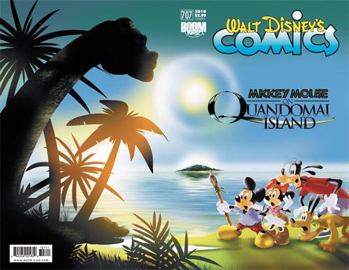 Walt Disney's Comics & Stories #707 by BOOM! Kids Cover A