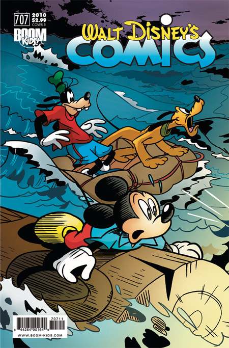 Walt Disney's Comics & Stories #707 by BOOM! Kids Cover B