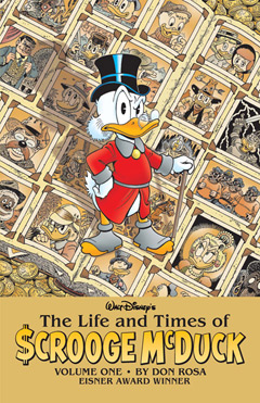 Cover of Life of Scrooge Volume 1