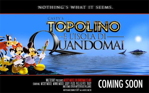 Topolino e l'isola di Quandomai