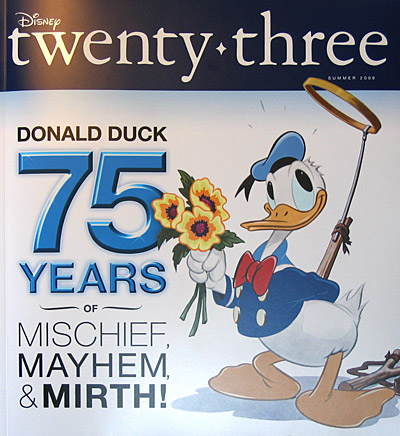 Issue 2 of Disney twenty-three magazine