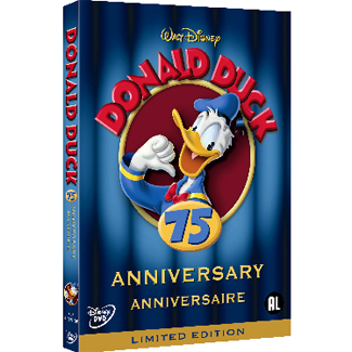 Donald Duck 75 anniversary DVD