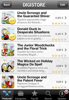 Disney DigiComics Digistore