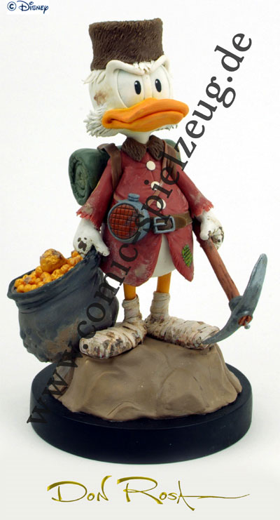 Don Rosa limited edition Uncle Scrooge statue