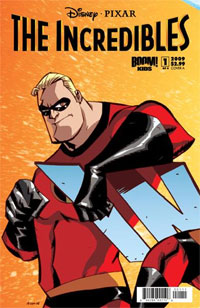 The Incredibles issue 1 by Boom! Studios