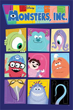 Monsters Inc issue 1