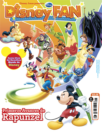 Disney Fan from Mexico Cover 1