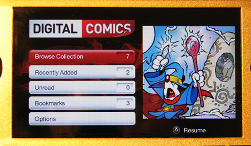 Disney DigiComics on the PSP