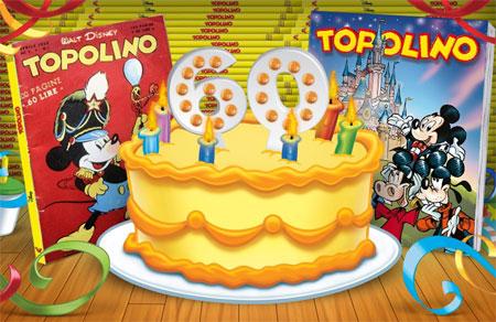 Topolino 60 years
