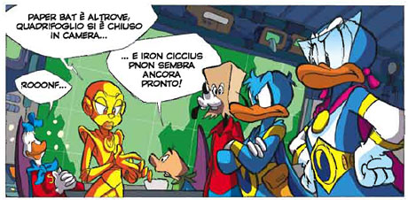 Panel from Ultraheroes