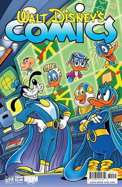 Walt Disney's Comics & Stories 699 Cover b