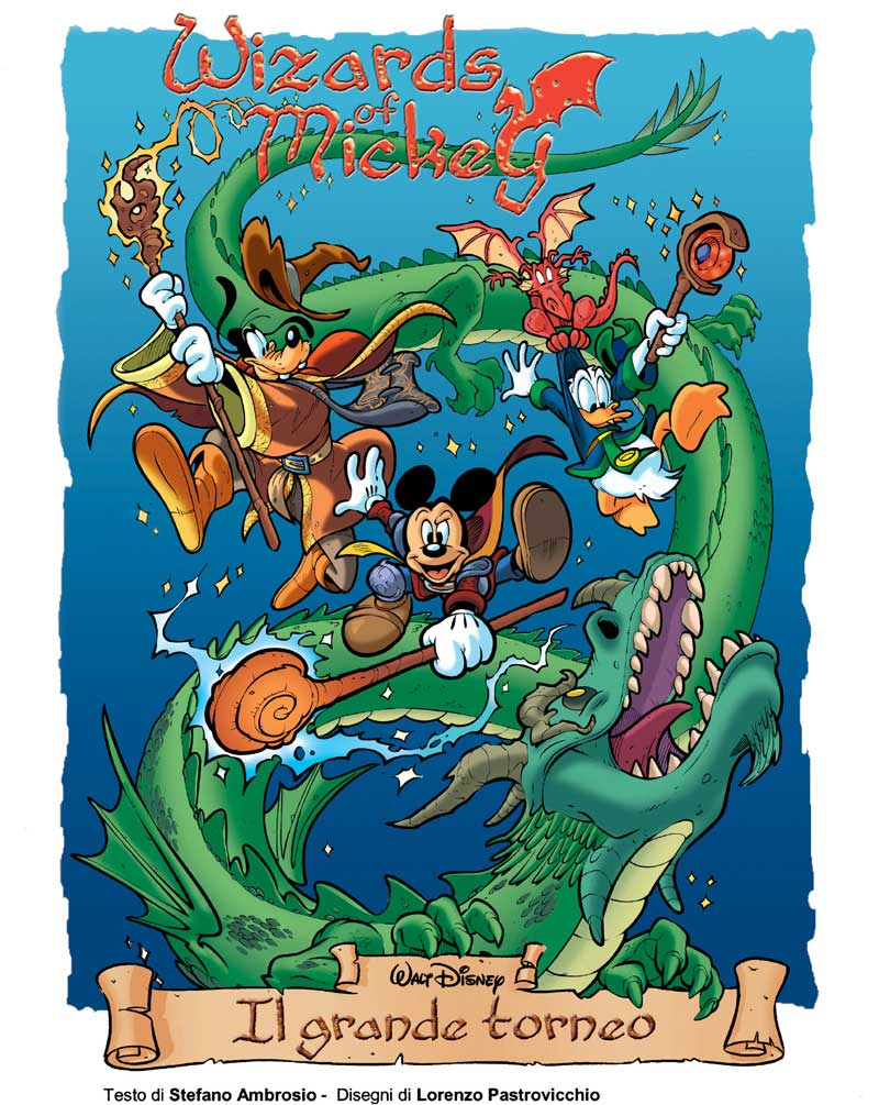 Wizards of Mickey Topolino Sneak Preview