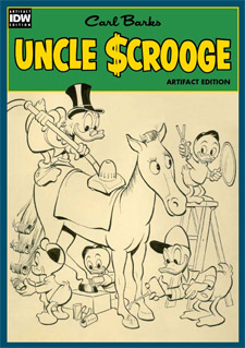 IDW Publishing Uncle Scrooge Artifact Edition