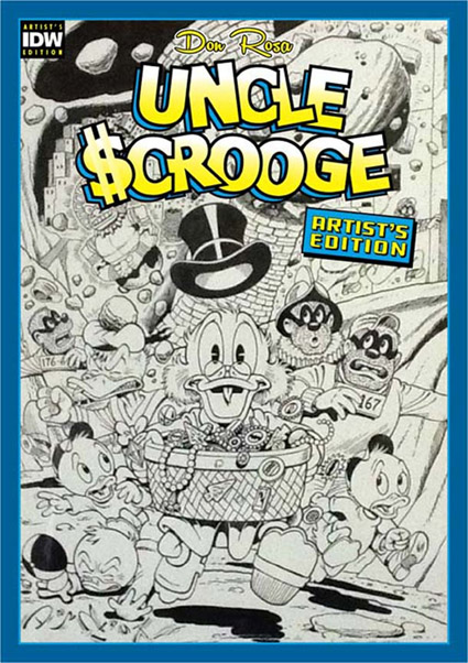 IDW's Uncle Scrooge Artist Edition