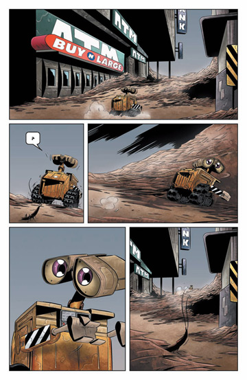 Page from Wall-E by BOOM! Studios