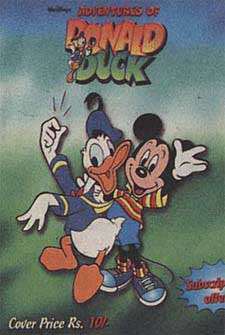 Adventures of Donald Duck, English language, from India
