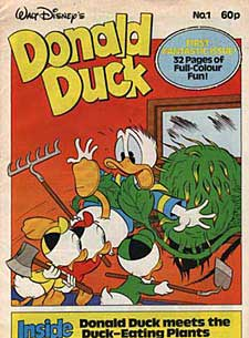 Donald Duck Comic (United Kingdom)