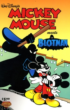 Mickey Mouse and Blotman (United States)