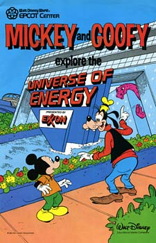 Mickey and Goofy explore the Universe of Energy (United States)