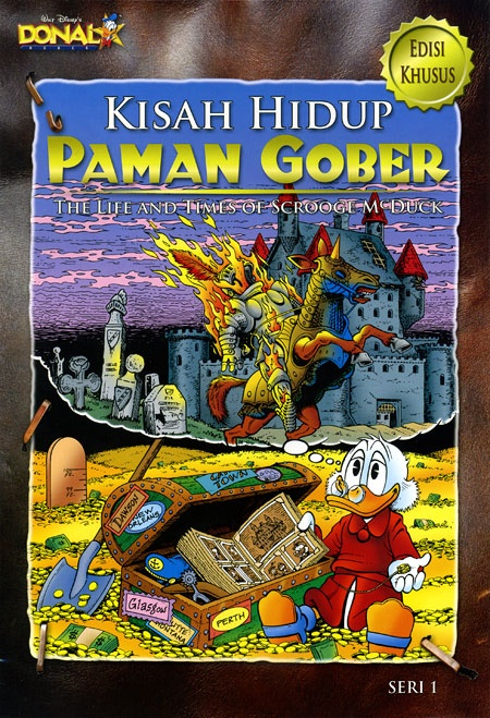 Issue 1 of Kisah Hidup Paman Gober