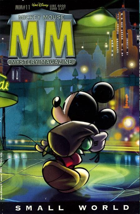 mickey mouse mystery magazinethe walt disney company italy
