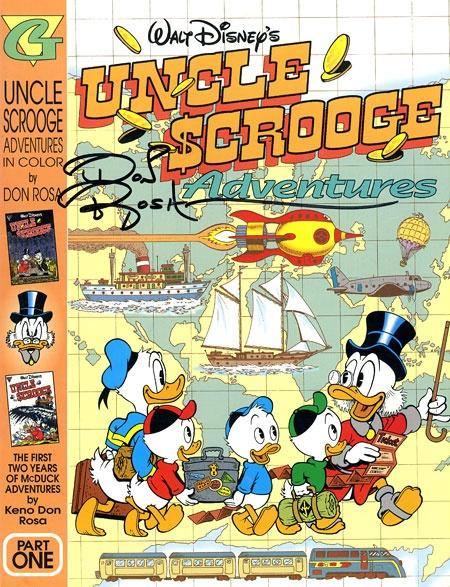 uncle scrooge adventures in colordon rosagladstone
