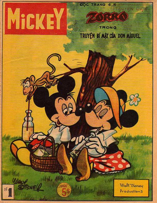 Disney Comic Books This Comic Book From Thailand