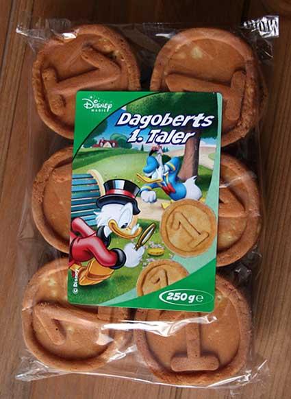 Scrooge McDuck cookies
