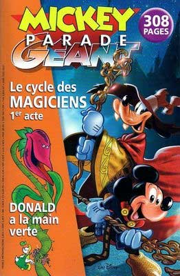Cover of Mickey Parade 297 from France