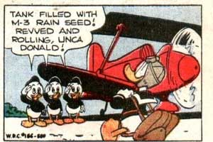 Panel from Carl Barks' The Master Rainmaker (1953)