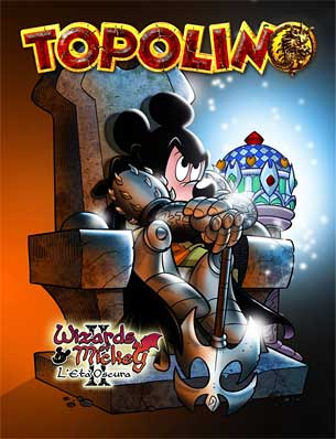 Cover of Topolino 2680 from Italy