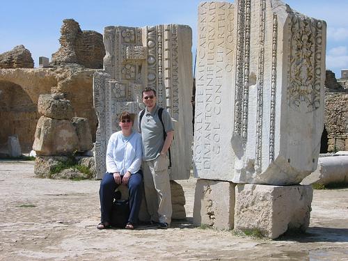 Roman ruins at Carthage