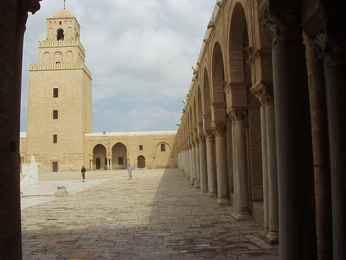 Holy city of Kairouan in Tunisia