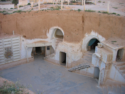 Sidi Driss Star Wars Hotel in Matmata Tunisia