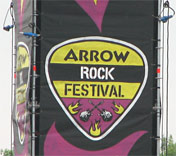 Arrow Rock Festival banner