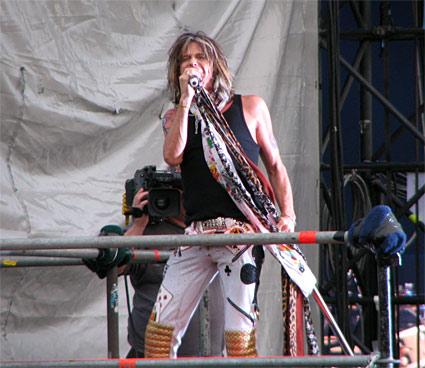 Steven Tyler of Aerosmith @ Arrow Rock Festival 2007