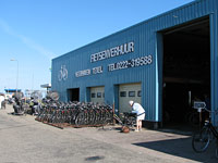 Bike rental place