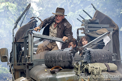 Scene from Indiana Jones and the Kingdom of the Crystal Skull