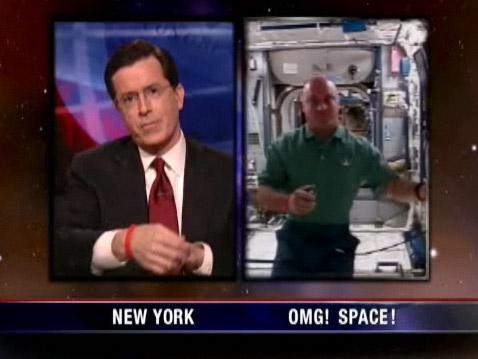 Garret Reisman on The Colbert Report