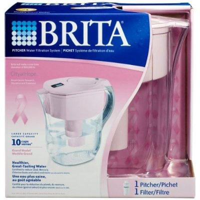 Pink Brita water filter
