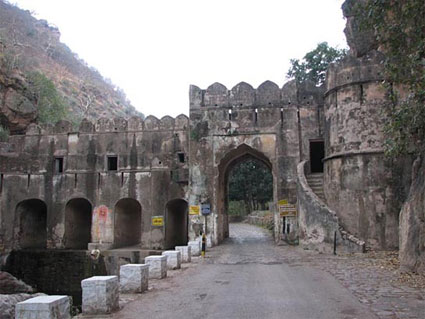 Entrance to Ranthambore