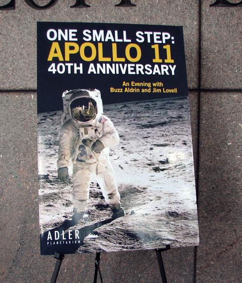Adler's Apollo celebration poster