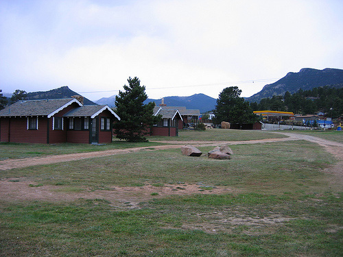 Tiny Town Cottages, Estes Park CO