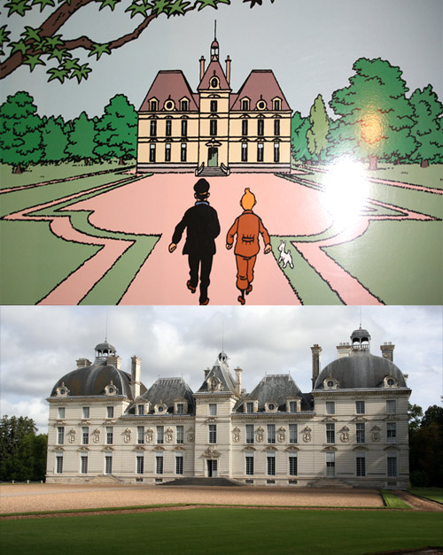 Marlinspike Hall and Chateau de Cheverny